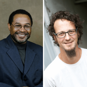 Billy Moore and Shane Claiborne
