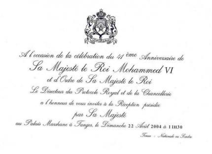 Invitation en francais invitationswedd invitation franais association jeunesse bab mansour stopboris Gallery