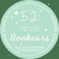 Mon Projet de l'année 2015: 52 petits bonheurs