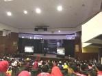 Kuliah kebangsaan yang berlangsung di Baruga A. Pangerang Pettarani Universitas Hasanuddin (Unhas), Kamis (26/10).