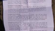 Tuntutan Mahasiswa Makassar di Hardiknas