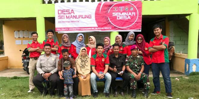 Mahasiswa KKN Tematik Desa Sei Manurung Sebatik Unhas Gelar Seminar Proker