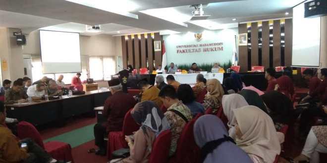 DPD RI dan FH-UH Bahas Harmonisasi Legislasi Pusat dan Daerah di FGD