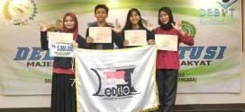 Tim Debat FH-UH Raih Juara 1 Debat Konstitusi MPR-RI