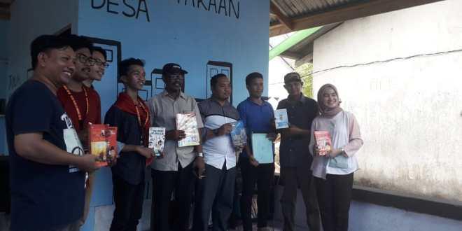 Peduli Literasi Masyarakat Desa, Alsa LC Unhas Bangun Perpustakaan Di Takalar
