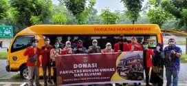 FH-UH Salurkan Langsung Bantuan Logistik ke Sulawesi Barat