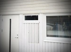 Ekstrands ytterdörr Koto och underhållsfria fönster_detalj