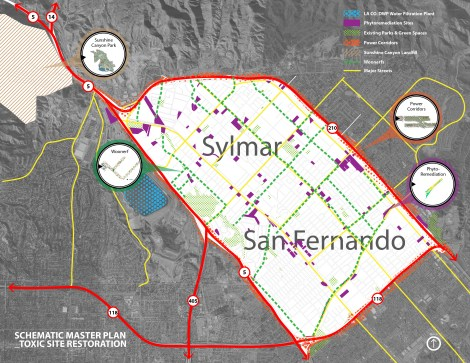 San Fernando Valley Urban Quilt of Master Plan