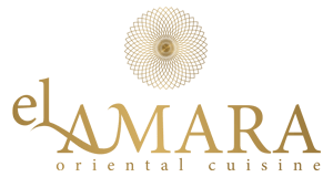 Das ElAmara Logo ist wunderschön und gold