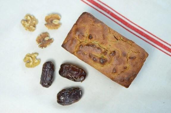Paleo Date Nut Bread
