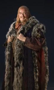 Stephen Fry como el Gobernador de Esgaroth en El Hobbit
