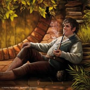 Bilbo Bolsón, según Magali Villeneuve