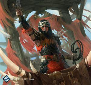 Capitán de los Haradrim, según Guillaume Ducos
