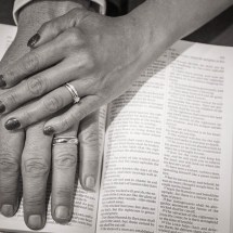 Hands, Rings and Bible