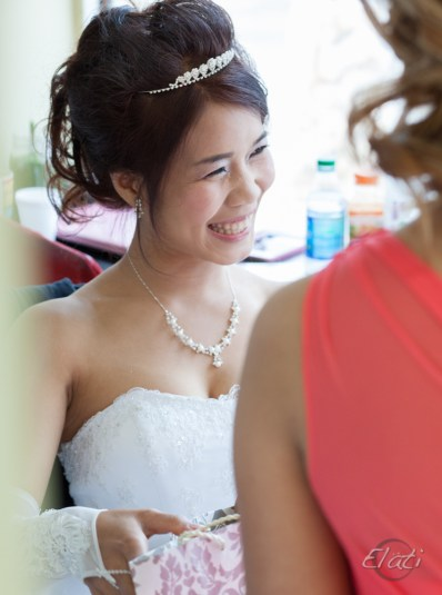Happy Burmese-Chin Bride