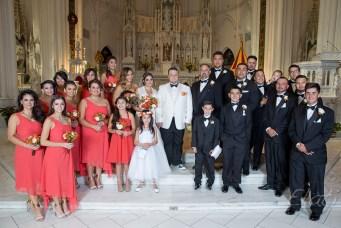 Bridal Party at Denver Cathedral