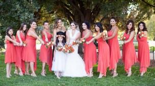 Bridesmaids at Cheesman Park