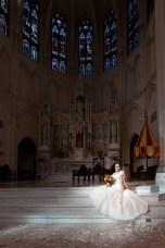 Bride at Denver Cathedral Basilica