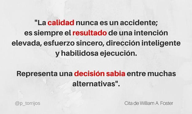 Cita de William Foster