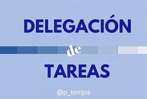 Delegación de tareas