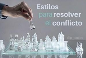 Estilos para resolver conflictos