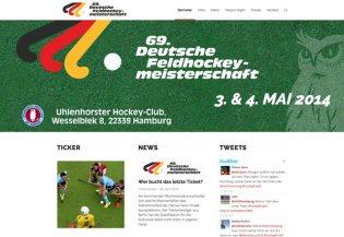 Hockey Final 4 - Deutsche Feldhockey-Meisterschaften 2014