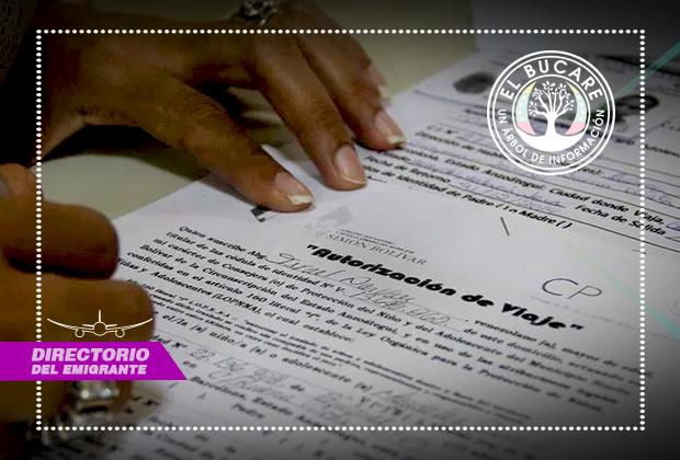 permiso de viaje para venezolanos que est u00e1n en chile