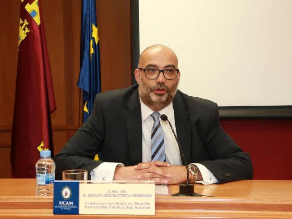 Adolfo Díaz-Bautista_El Club del Escenario_Universidad Católica de Murcia