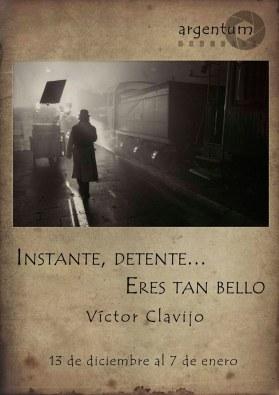 Víctor Clavijo_actor_Instante, dentete...eres tan bello_exposición fotográfica_Nada Personal_El club del escenario.