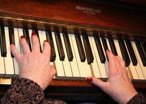 Elderly assistance, senior help, caregiving, sing alongs