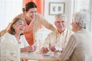 laughing elders
