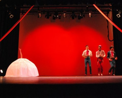 Otro de los espectáculos de Les Cabaret Capricho fue 'El folk chou'.
