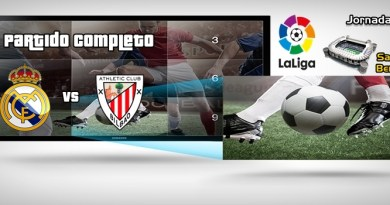 Partido | Real Madrid vs Athletic Club Bilbao | LaLiga | J9