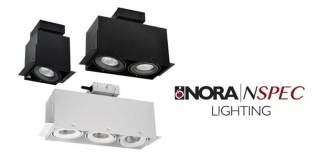NORA LIGHTING'S NEW TRIMLESS MLS SERIES  OFFERS CONTEMPORARY, FLANGE-LESS LOOK
