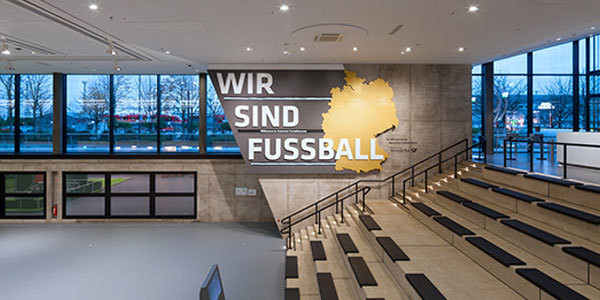 Zumtobel Part of the Game at the new DFB Museum