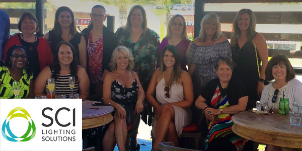 Ladies of SCI Enjoy a Day at the Races