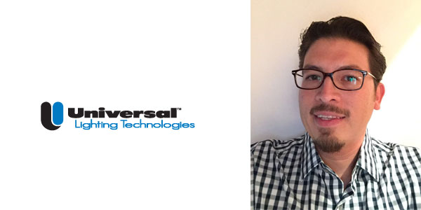 Jorge Trejo Appointed Director of International Sales for Universal Lighting Technologies