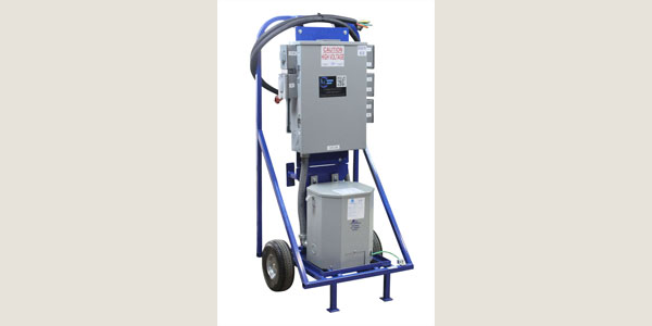 Larson Electronics Releases a 25 KVA Temporary Power Distribution System on Wheeled Cart