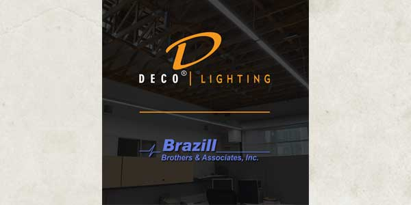 Deco Lighting Develops New York City Presence, Assigns Sales Representatives Brazill LiteTech