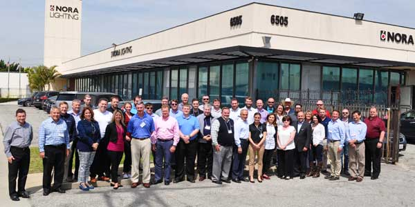 Nora Lighting Welcomes New Agency Reps to National Sales Training Event