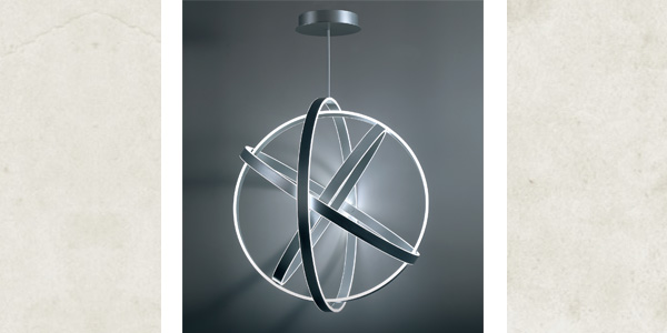Spectacular Lighting Dynamics Introduced with Modern Forms Kinetic LED Chandelier