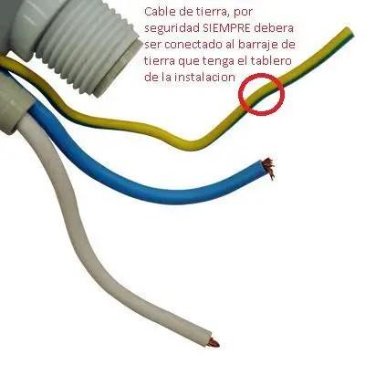 Como se debe conectar correctamente una ducha electrica for Como funciona una regadera electrica
