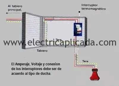 Como Se Debe Conectar Correctamente Una Ducha Electrica