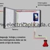 Conexion ducha electrica retie interruptor termomagnetico