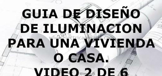 GUIA DE DISEO ILUMINACION VIDEO 2 DE 6