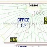 posicion optima sensores ultrasonicos iluminacion 2A