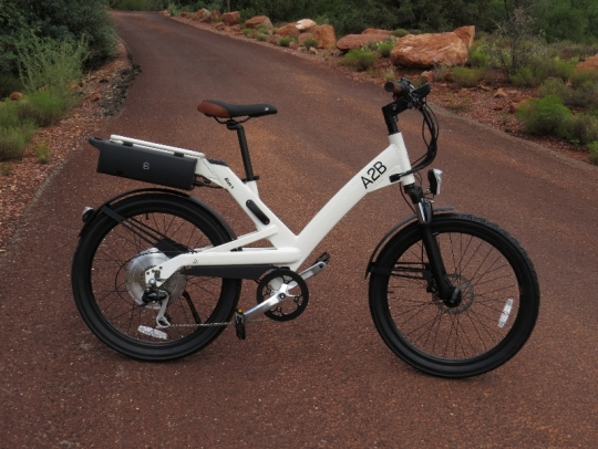 The A2B Alva + is ready to hit the open road!  This bike features a 500 watt direct drive rear hub motor, 36V 13.2ah lithium ion battery, wireless key, and much more.