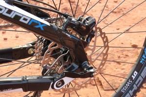 Haibike FS RX shimano disc brake 1