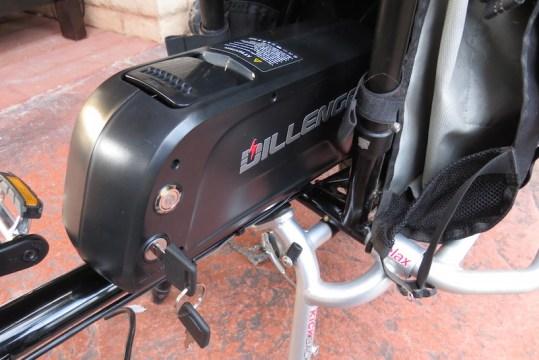 Dillenger Bafang battery key