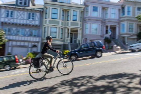 electric bike commuting